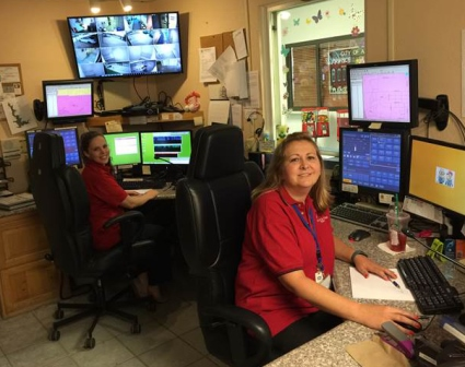 Dispatchers at their desks